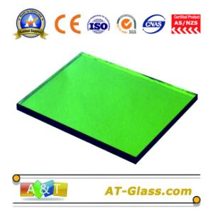 4, 5, 6, 8, 10mm F-Green, Dark Green Reflective Float Glass/Coated Glass/Tinted Glass pictures & photos