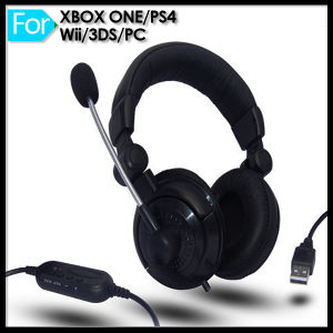Cheap Stereo Gaming Headphone for PS4 with Mic pictures & photos