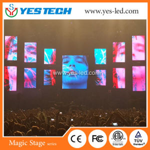Light Weight P3 P4mmflexible Stage Background Curtain pictures & photos