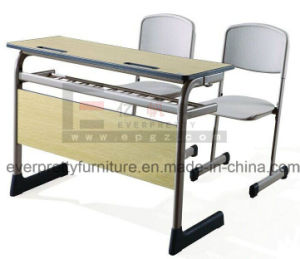 New Sample of School Desk Chair in Showroom pictures & photos
