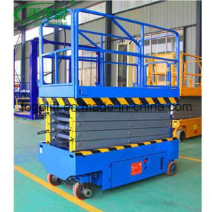 8m 1000kg Mobile Scissor Lift/Hydraulic Lift/Hydraulic Ladder Lift pictures & photos