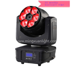 New Zoom 6X15W RGBW 4in1 Mini LED Moving Heads Beam pictures & photos