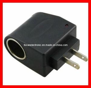 110V-220V AC To12V DC Us Car Power Adapter Converter Cigarette Lighter Socket pictures & photos