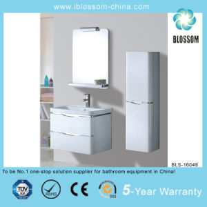Easy Clean Beautiful Style Bathroom Vanity (BLS-16048) pictures & photos