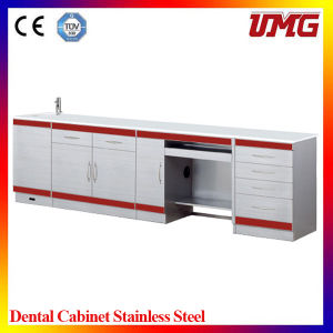 Stainless Steel Mobile Dental Cabinet for Sale pictures & photos