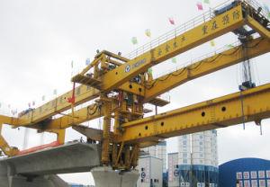 Tj900s Guide Girder Non-Moving Lifting Bridge Girder Erection Machine