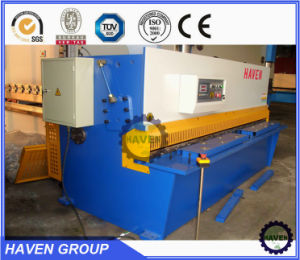 CNC hydraulic guillotine shearing machine steel plate shearing machine pictures & photos
