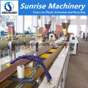 WPC Decking Floor Fence Profile Production Machine pictures & photos
