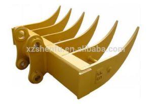 Sf Rake Bucket for Excavator Cat325 Excavator Root Rake pictures & photos