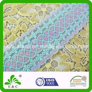 Elegant Double Color Fine Stretch Elastic Lace