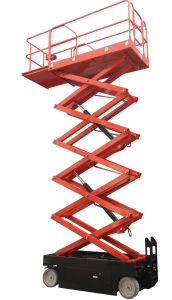 4.6m Electric Scissor Lift (JCPTZ4.606DC) pictures & photos