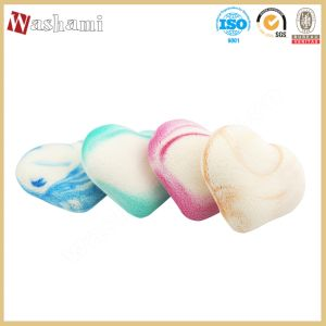 Washami Promotion Make up Sponge Colorful Heart-Shaped Puff pictures & photos