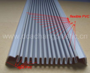 PVC Coextrusion Blind Shutter Profile pictures & photos