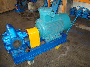 KCB200 Gear Oil Pump with Skid Trolley pictures & photos
