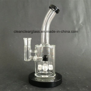 New Design Glass Water Pipe Smoking Pipe with Matrix Perc