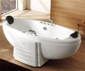 Monalisa Sexy Double Massage Sanitary Bathtub (M-2003) pictures & photos