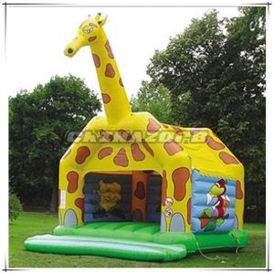 Giraffe Animal Inflatable Bouncy Castle for Sale pictures & photos