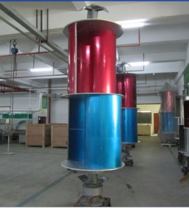 10kw Vertical Axis Wind Turbine Generator (VAWT from 200W to 10KW) pictures & photos