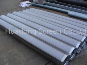 Bear Screen Cylinder/Johnson Well Filter/Water Well Wedge Wire Continous Mini Slot Screen pictures & photos