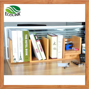 Bamboo Desk Organizer Book Rack pictures & photos