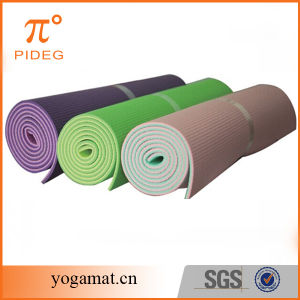 8mm Two Color PVC Yoga Mat with Custom Logo pictures & photos