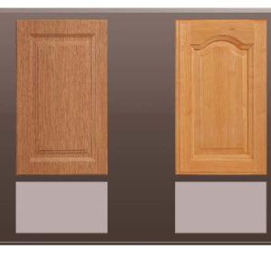 Wooden Colour PVC Vacuum MDF Door (FY089) pictures & photos