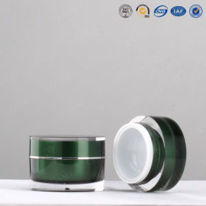 100g 200g Round Plastic Acrylic Skincare Cosmetic Cream Container and Jar pictures & photos