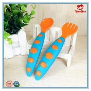 New Design Plastic Toddler Spoon Set BPA Free pictures & photos