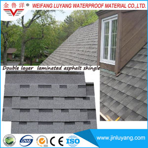 Laminated Standard Asphalt Roofing Shingle for Villa pictures & photos