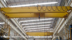 Double Girder Overhead Crane with Electric Hoist Lifting Machinery pictures & photos