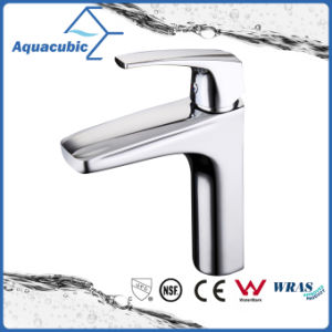 Modern Brass European Single Hangle Bathroom Sink Faucet (AF0464-6C) pictures & photos
