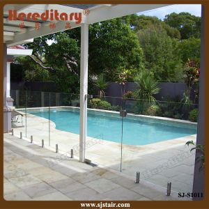 Frameless Glass Railing /Swimming Pool Railing (SJ-S1011) pictures & photos