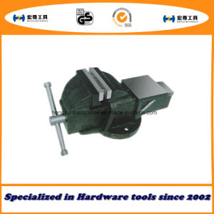 3′′ 75mm Heavy Duty French Type Bench Vise Stationary with Anvil pictures & photos