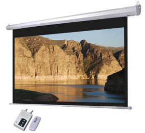 100 Inch 150 Inch 180 Inch 200 Inch Perfect Electric Projector Screen