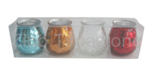 Tea Light Gift Box Craft Glass Candle Holder pictures & photos