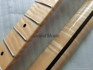 Flamed Maple High Gloss Strat 22 Frets Guitar Neck (STFM) pictures & photos