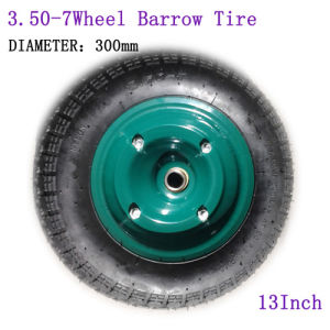 13 Inch 3.50-7 Inflatable Tire Wheel Barrow Tire pictures & photos