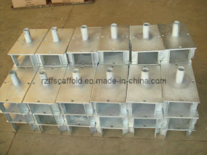 Steel Scaffolding Accessories Base Plate/U Head (FF-170) pictures & photos