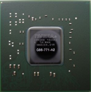 Original Nvidia Chips (G86-771-A2) for Computer Hardware Repair