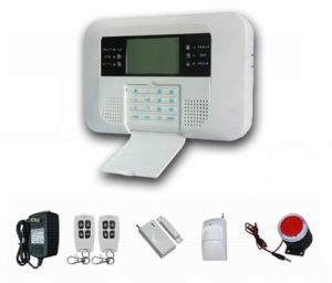 Wired Wireless PSTN GSM Alarm System with LCD (ES-2040GSM-B) pictures & photos