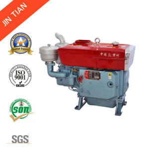 20HP 4-Stroke Small Diesel Engine with Electric Starter (Zs1115) pictures & photos