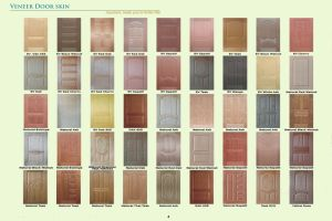 HDF Doorskin / Laminate Door Skin pictures & photos