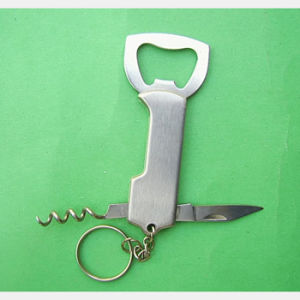 Beer Opener & Corkscrew Keychain (op-007) pictures & photos