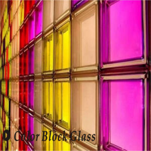 Color Block Glass with En101-1: 2003 and Jc/T 1007-2006 Standards