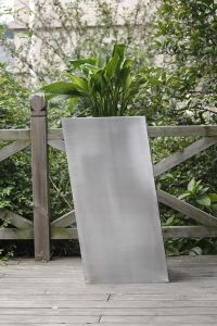 Brushed Stainless Steel Outdoor Planter with New Design pictures & photos