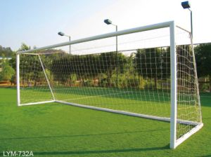 Good Quality Aluminum Soccer Goal Posts Lym-732A pictures & photos