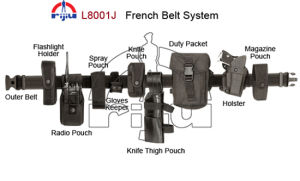 1680D Cordura Nylon Belt System (L8001J)
