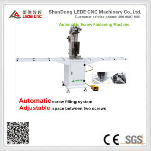 Automatic Screw Double Head Fasten Machine for UPVC/PVC Window pictures & photos
