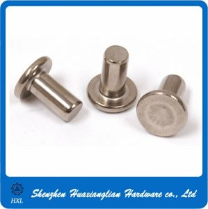 OEM Precision Steel Flat Head Solid Rivet pictures & photos