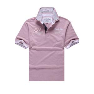 China unisex double collar custom polyester polo shirts for Custom polyester polo shirts